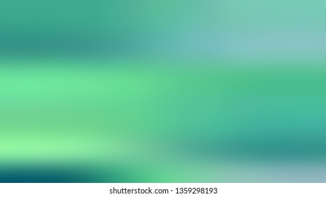 Gradient with Green, Blue, Pearl, Aqua color. Beautiful raster background with uniform smooth texture. Blank space for text and advertising.