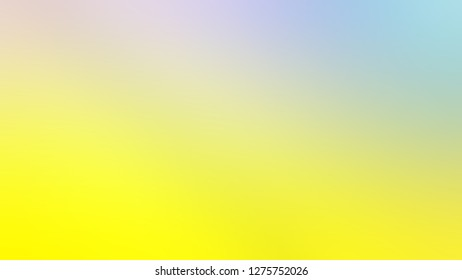 Gradient with Grey Nurse, Gorse, Yellow color. Beautiful raster blurred background with defocused image. Template for journal or book cover.