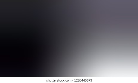 Gradient with Gun Powder, Violet, Black color. Raster simple blurred background for desktop and mobile phone. Template with changing shades and with place for text.