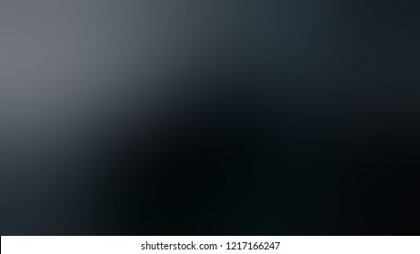 Gradient with Gunmetal, Grey, Black color. Beautiful simple modern background with color transition.