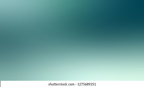 Gradient with Half Baked, Blue, Sinbad, Green color. Artistic and decorative blurred background with abstract style. Template and wallpaper to the screen of a phone.