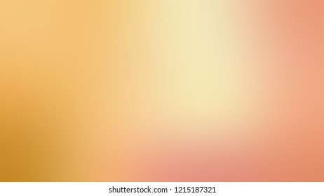 Gradient with Harvest Gold, Yellow, Astra, Brown, Tonys Pink color. Simple blurred background with smooth transition of colors for banner.