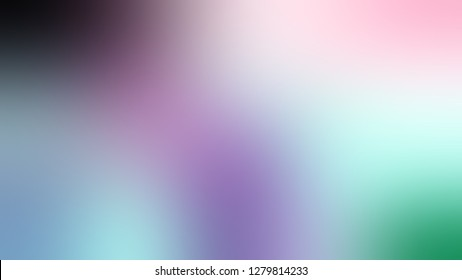 Gradient with Heather, Blue, Lynch color. Gaussian drawing as a work of art. Background with smooth color degradation. Template with blank space for text material.