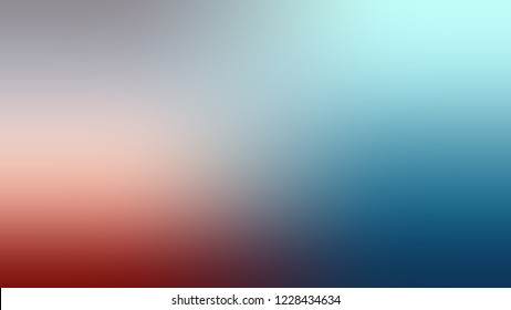 Gradient with Heather, Blue, Matisse color. Blend simple defocused backdrop with color transition.