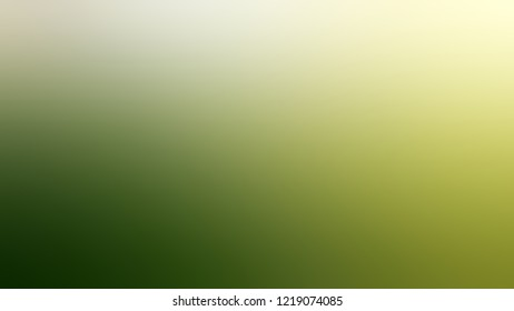 Gradient with Highland, Green, Mint Julep, Brown color. Clean simple defocused background for ads or commercials. Template with changing shades and with space for text.