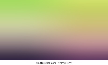 Gradient with Hillary, Green, Quicksand, Brown color. Blend simple defocused and blurred background with the transition colors for banner and advertising.