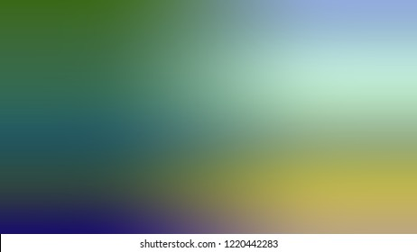 Gradient with Hippie Green, Sinbad color. Blend simple smeared background for websites and mobile apps.