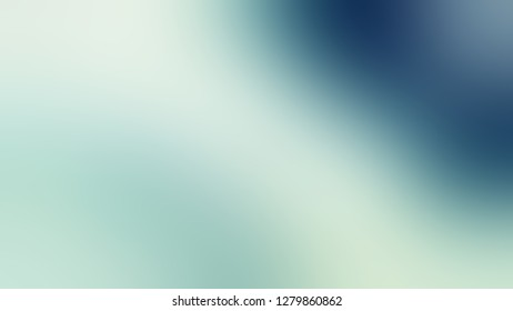 Gradient with Iceberg, Green, Matisse, Blue color. Chaos of color and hue. Background with abstract style. Template with blank space for text material.