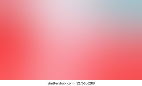Gradient with Illusion, Pink, Bittersweet, Orange color. Attractive and mystical blurred background with colorful shades. Template for web page or site.