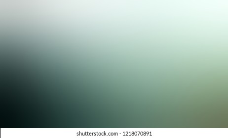 Gradient with Jet Stream, Green, Cutty Sark color. Classic and awesome abstract blurred background with smooth color transition. Minimalism.