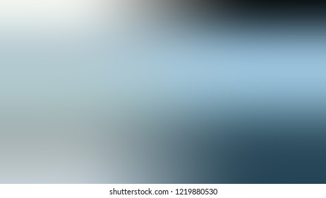 Gradient with Jungle Mist, Green, Blue color. Blank simple modern blurred background with color degradation.