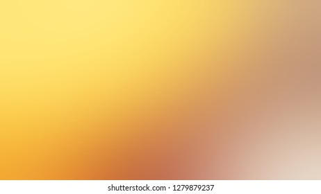 Gradient with Kournikova, Yellow, Cameo, Brown color. Attractive and mystical blurred background. Template and wallpaper to the screen of a telephone.