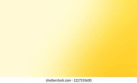 Gradient with Lemon Chiffon, Yellow, Gorse color. Beautiful simple defocused and blurred background with the transition colors for advertising.