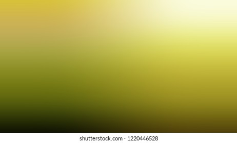 Gradient with Lemon Ginger, Yellow, Sundance, Brown color. Blend simple defocused backdrop for ads or commercials.