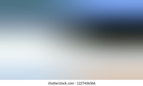 Gradient with Light Grey, Lynch, Blue color. Blend and awesome abstract blurred background with smooth color transition. Minimalism.