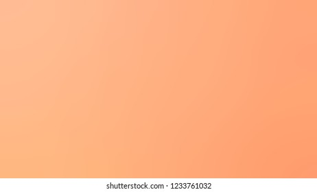 Gradient with Light Salmon, Orange, Macaroni And Cheese color. Ambiguous backdrop with a smooth transition of colors. Template with changing shades and with place for text.