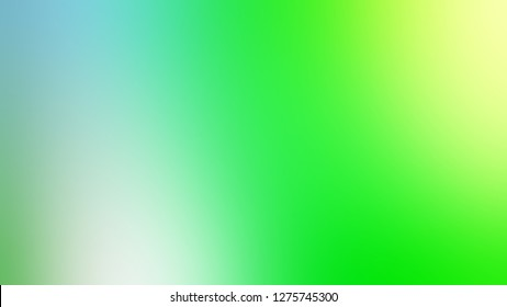Gradient with Lime Green, Sinbad color. Classic and contemporary background with color degradation. Model of blurred backdrop for banner or business presentation.