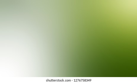 Gradient with Locust, Green, Chelsea Cucumber color. Gaussian drawing as a work of art. Background with uniform smooth texture. Template for newsletter.