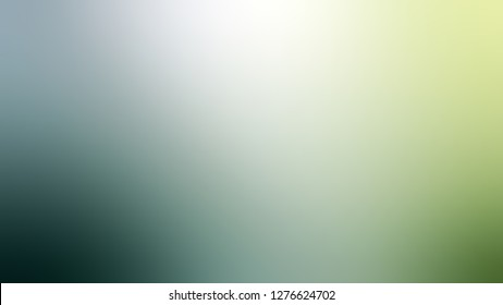 Gradient with Lynch, Blue, Orinoco, Green color. Very simple and modern blank background. Template for web page or site.