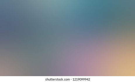 Gradient with Lynch, Blue, Rodeo Dust, Brown color. Blend and awesome abstract blurred background with smooth color transition. Minimalism.