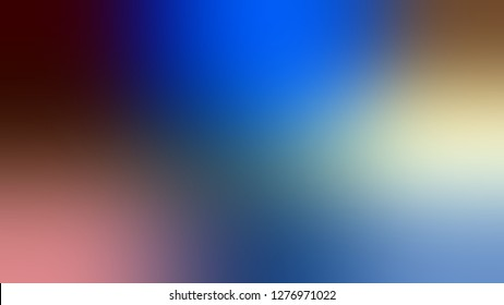 Gradient with Lynch, Blue, Tawny Port, Red color. Artistic and decorative blurred backdrop with smooth color degradation. Template and wallpaper to the screen of a mobile.