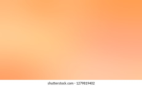 Gradient with Macaroni And Cheese, Orange color. Attractive and mystical blurred background without focus. Template for journal or book cover.