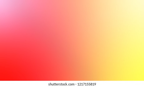 Gradient with Macaroni And Cheese, Orange, Coral Red color. Attractive blurred background with smooth color transition.