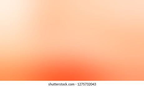 Gradient with Macaroni And Cheese, Orange, Peach Puff color. Beautiful raster blurred background with colorful shades. Template and wallpaper to the screen of a cellphone.