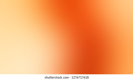 Gradient with Macaroni And Cheese, Orange, Persimmon color. Ambiguous and foggy blurred background with defocused image. Template for magazine or book layout.