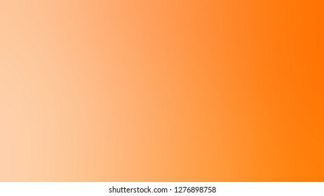 Gradient with Macaroni And Cheese, Orange, Pumpkin color. Classic and contemporary blurred background with smooth color degradation.