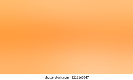 Gradient with Macaroni And Cheese, Orange, Sunshade color. Simple modern blurred background with color degradation.