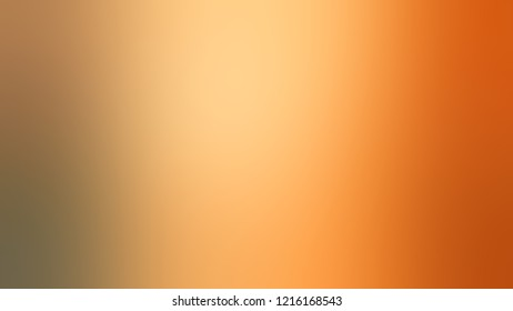Gradient with Macaroni And Cheese, Orange, Tahiti Gold color. Awesome blurred background with smooth color transition.