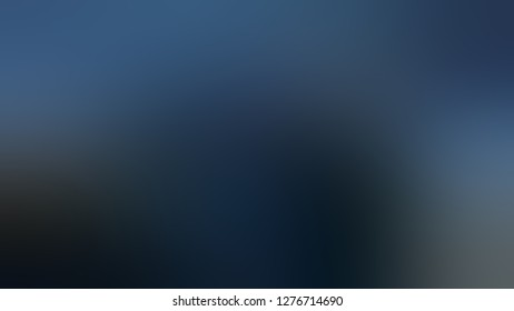 Gradient with Madison, Blue, Arsenic, Grey color. Gaussian drawing as a work of art. Background with defocused image. A blend of shades and tones.