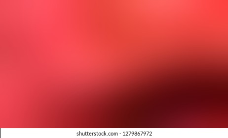 Gradient with Mahogany, Brown, Red Oxide color. Simple blurred background with smooth transition of colors for banner. Template with changing shades and with place for text.