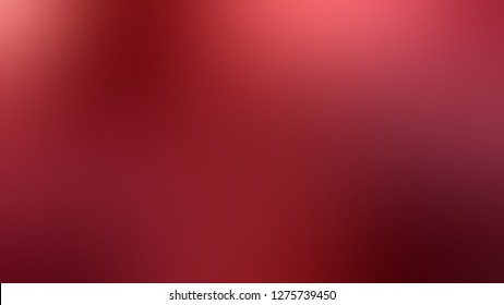 Gradient with Mandarian Orange, Red Berry color. Bizarre and bitmap blurred background with a smooth transition of colors and shades. Template for journal or book layout.