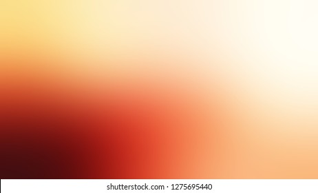 Gradient with Mandys Pink, Macaroni And Cheese, Orange color. Bizarre and bitmap backdrop with color degradation. Model of blurred backdrop for banner or business presentation.