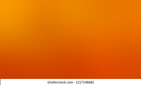 Gradient with Mango Tango, Orange, Tangerine color. Beautiful and awesome simple modern blurred background with color degradation.