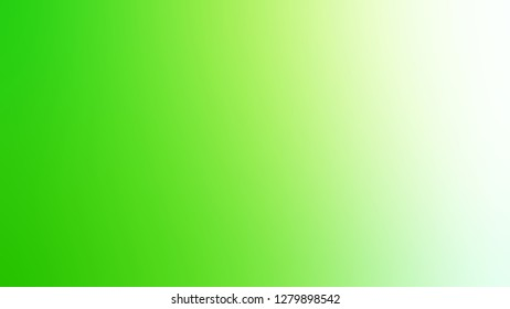 Gradient with Mantis, Green, Panache color. Simplicity and purity. Blurred with smooth color degradation. Template for the header on the cover of magazine or book.