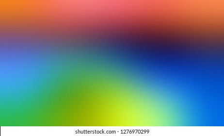 Gradient with Mantis, Green, Tory Blue color. Artistic and decorative blurred background with defocused image. Blank page template for a website or presentation.
