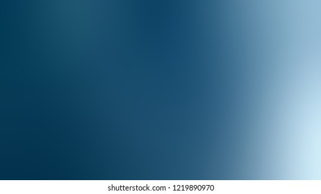 Gradient with Matisse, Blue color. Blend simple blurred background with smooth transition of colors for banner.