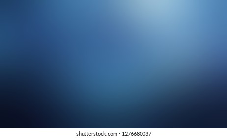 Gradient with Matisse, Blue color. Gaussian drawing as a work of art. Background with smooth change of colors and shades. Template for newsletter.