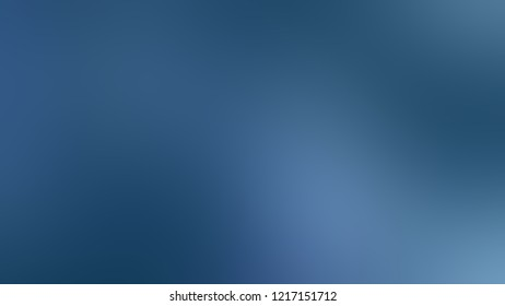 Gradient with Matisse, Blue color. Simple and modern blurred background with the deterioration of the color for your ad.