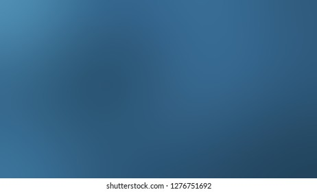 Gradient with Matisse, Blue color. Simple defocused backdrop with color transition. The template for the banner or presentation.