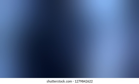 Gradient with Matisse, Blue color. Very simple and modern blurred background with abstract style. Template and wallpaper to the screen of a phone.