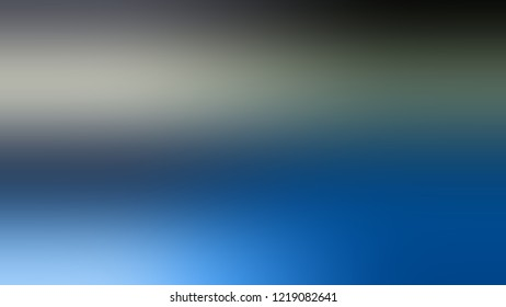 Gradient with Matisse, Blue, Rolling Stone, Grey color. Raster and very simple abstract background for web or presentation. Template basis for banner or presentation.