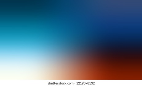 Gradient with Matisse, Blue, Tranquil color. Clean very simple abstract background for banner or presentation. Template with changing shades and with space for text.