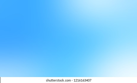 Gradient with Maya Blue, Columbia color. Ambiguous backdrop with a smooth transition of colors.