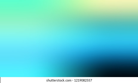 Gradient with Medium Turquoise, Blue, Riptide color. Blank and very simple abstract background for web or presentation. Template basis for banner or presentation.