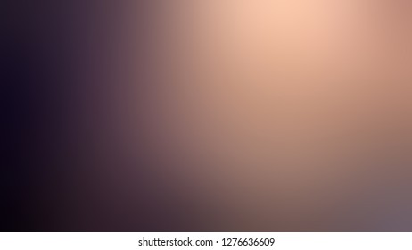 Gradient with Melanzane, Violet, Cameo, Brown color. Simplicity and purity. Blurred with uniform smooth texture. Template for advertising and commercials.