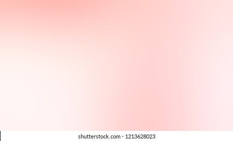 Gradient with Misty Rose Pink color. Modern texture background, degrading fragments, smooth shape transition and changing shade.